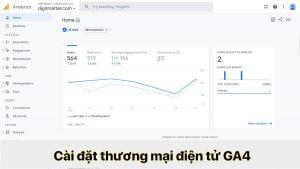 Cài đặt thương mại điện tử Goolge Analytics 4